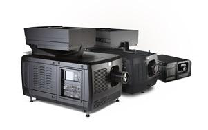 Barco smart laser projectors