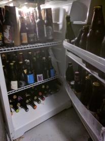 Mike's beer fridge