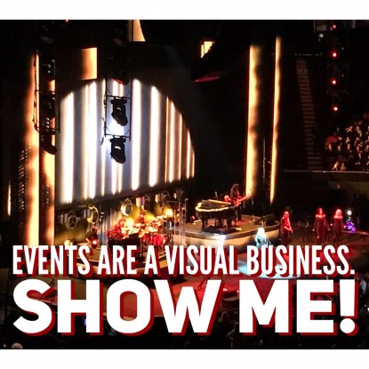 Events visual business