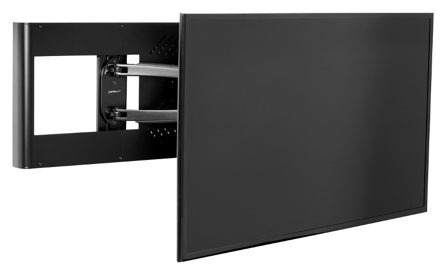 Peerless Av Launches Hospitality Wall Arm Mount With Set