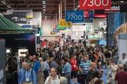 trade show crowd