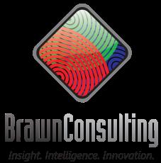 Brawn Consulting Logo - V Stack Tagline