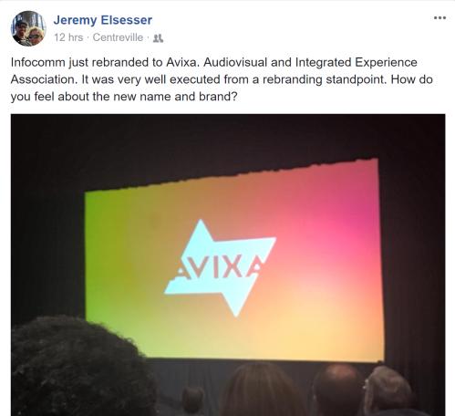 Jeremy Elsesser AVIXA FB post.png