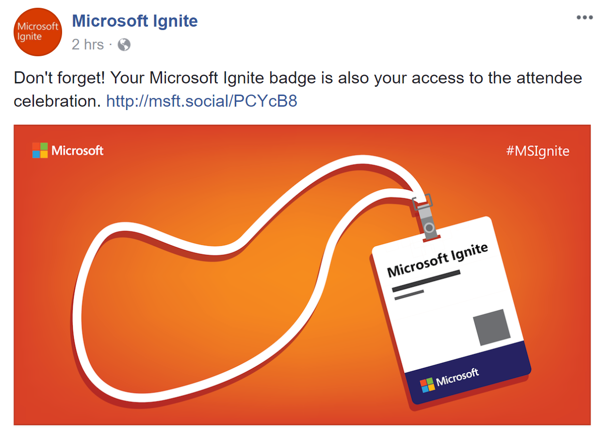 microsoft orange badge