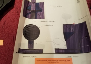SoundStation design drawings Smithsonian