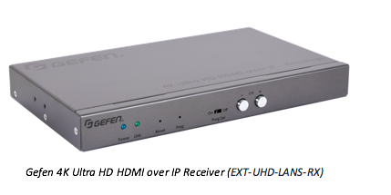 Gefen 4K Ultra HDMI over IP receiver