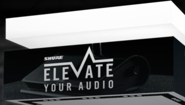 Shure booth at ISE 2018