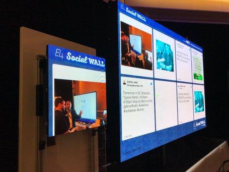 NEC Social Wall
