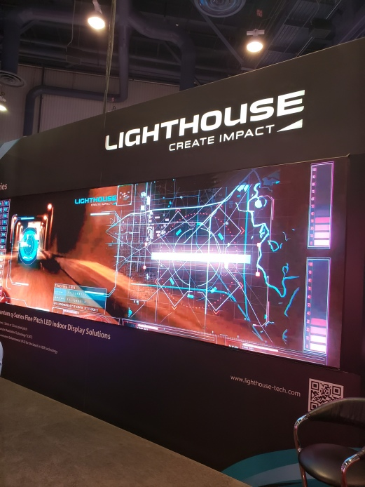 Lighthouse at InfoComm 18