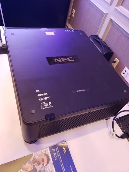 NEC projector E4 Boston