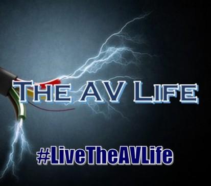 The AV Life Live Life logo