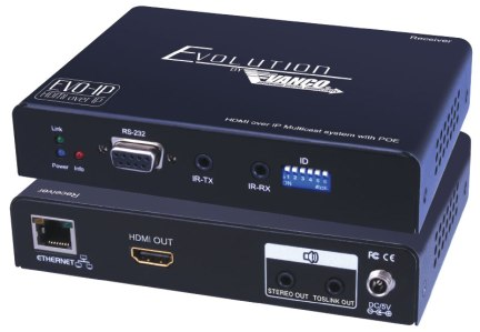 Vanco Evolution EVO-IP HDMI over IP System